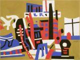 New York Mural Stuart Davis Stuart Davis 1938 New York Waterfront Albright Knox Art…