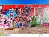 New York Murals for Walls Mural Art In Bushwick Brooklyn Nyc Editorial Image Image Of Face