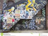 New York Murals for Walls Mural In Williamsburg Section In Brooklyn Editorial Image Of