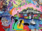 New York Murals for Walls New Mural by David Choe On the Iconic Houston Bowery Graffiti Wall