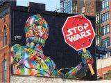 "New York Murals for Walls Stop Wars"" by Kobrastreetart In New York Locatio"