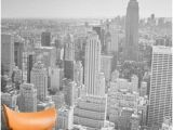 New York Skyline Mural Black and White 214 Best Black and White Wallpaper Images