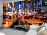 New York Taxi Wall Mural New York Times Square Wallpaper Mural Wallpaper Mural at Allposters