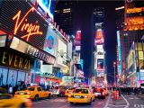 New York Times Square Wall Mural Downtown New York Scene Wall Mural