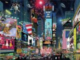 "New York Times Square Wall Mural New York Times Square Ii"" the Heart Of Nyc This Jigsaw"