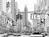 New York Wall Mural Black and White Street In New York Wall Mural Wallpaper Giant Decor