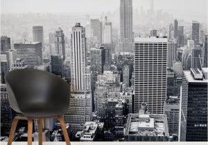 New York Wall Mural Wallpaper City Of Dreams City Square 1 Wall Murals Falbortás