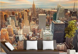 New York Wall Mural Wallpaper Wallpaper Custom 3d Stereo Latest Outside the Window New York City Landscape Wall Mural Fice Living Room Decor Wallpaper I Hd Wallpapers I