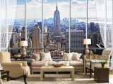New York Window Wall Mural 59 Inspirierend Fototapete New York Skyline Reizend