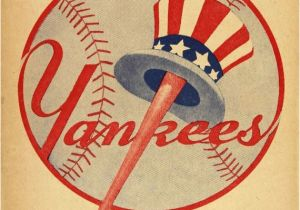 New York Yankee Wall Murals 1946 New York Yankees Print Vintage Baseball Poster