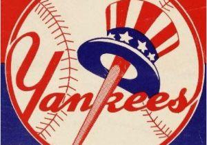 New York Yankee Wall Murals New York Yankees 1959 Print Vintage Baseball Poster Retro