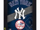 New York Yankee Wall Murals New York Yankees 3d Poster Wall Art Decor Framed Print 14 5×18 5 Lenticular Posters & Memorabilia Gifts for Guys & Girls Bedroom
