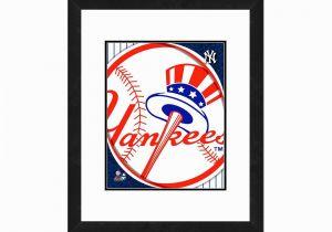 New York Yankee Wall Murals New York Yankees File 18×22 Inch Framed Wall Art