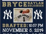 New York Yankees Wall Murals Mlb New York Yankees Baseball Wall Art Birth Announcement