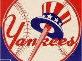 New York Yankees Wall Murals New York Yankees 1959 Print Vintage Baseball Poster Retro