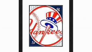 New York Yankees Wall Murals New York Yankees File 18×22 Inch Framed Wall Art