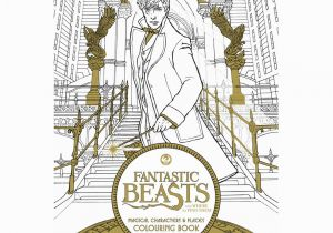 Newt Scamander Coloring Pages Pottermore Releases Fantastic Beasts Screenplay & Behind