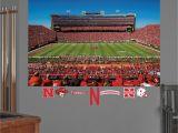 Neyland Stadium Wall Mural Nebraska Cornhuskers 50 Yard Line Stadium Mural