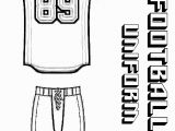 Nfl Jersey Coloring Pages 28 Collection Of Football Jersey Clipart Free