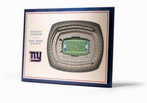 Nfl Stadium Wall Murals New York Giants 5 Layer 3d Stadium View Wall Art