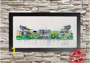Nfl Stadium Wall Murals Steelers Wall Art