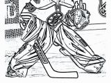 Nhl Hockey Coloring Pages to Print Coloring Of Nhl Hockey Player at Yescoloring