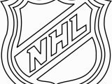 Nhl Hockey Coloring Pages to Print Nhl Logo Coloring Page Free Nhl Coloring Pages