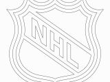 Nhl Hockey Coloring Pages to Print Nhl Logo Coloring Page