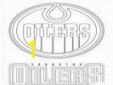 Nhl Teams Coloring Pages Print Edmonton Oilers Logo Nhl Hockey Sport Coloring