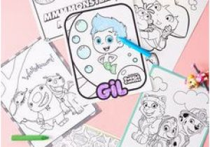 Nick Jr Coloring Pages Bubble Guppies 85 Best Nick Jr Printables Images On Pinterest