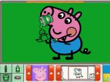 Nick Jr Coloring Pages Peppa Pig Peppa Pig George S Easter Basket Nick Jr Coloring Book Creativity