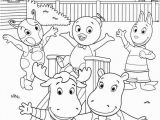 Nick Jr Coloring Pages Printable Backyardigans Coloring Picture with Images