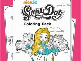 Nick Jr Coloring Pages Printable Sunny Day Coloring Pack