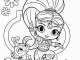 Nick Jr Shimmer and Shine Coloring Pages Nick Jr Shimmer and Shine Free and Printable