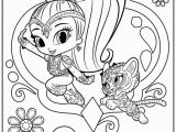Nick Jr Shimmer and Shine Coloring Pages Shimmer and Shine Coloring Pages