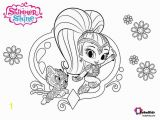 Nick Jr Shimmer and Shine Coloring Pages Shimmer and Shine Free Coloring Sheet Collection Of