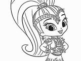 Nick Jr Shimmer and Shine Coloring Pages Shine and Shimmer Coloring Pages Nick Jr Sketch Coloring Page