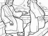 Nicodemus Coloring Page Nicodemus Coloring Page