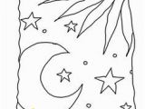 Night Sky Coloring Page 548 Best Day and Night Images In 2020