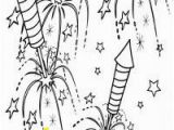 Night Sky Coloring Page Fireworks Coloring Pages for Kids