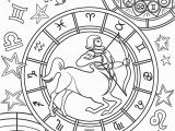 Night Sky Coloring Page Printable Coloring Pages Zodiac Signs – Pusat Hobi