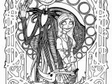 Nightmare before Christmas Adult Coloring Pages Free Printables Nightmare before Christmas Coloring Pages