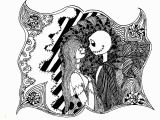 Nightmare before Christmas Adult Coloring Pages Halloween the Nightmare before Christmas Halloween Adult