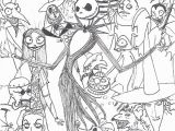 Nightmare before Christmas Adult Coloring Pages Nightmare before Christmas by Hirokiro On Deviantart