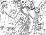 Nightmare before Christmas Adult Coloring Pages Nightmare before Christmas Coloring Pages Part 3