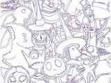 Nightmare before Christmas Printable Coloring Pages the Nightmare before Christmas Coloring Pages Beautiful Www Coloring