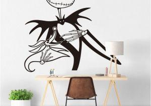 Nightmare before Christmas Wall Mural Jack Skellington Wall Sticker Kids Room Bedroom Nightmare before