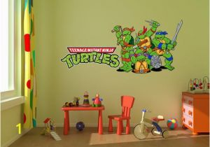Ninja Turtle Wall Mural Ninja Turtles Room Decal Stickers Bedroom Wall Murals Ninja Turtle Decals Cartoon Wall Designs Tmnt Ninja Turtle Decal