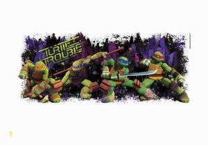 Ninja Turtle Wall Mural Roommates Decor Sticker Teenage Mutant Ninja Turtles Turtle