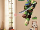 Ninja Turtle Wall Mural Teenage Mutant Ninja Turtles Leo Peel and Stick Wall Decals Sticker